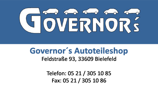 Govenor's Autoteile